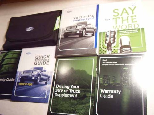 (2012 Ford F150 F-150 Pickup Truck Owners Manual)