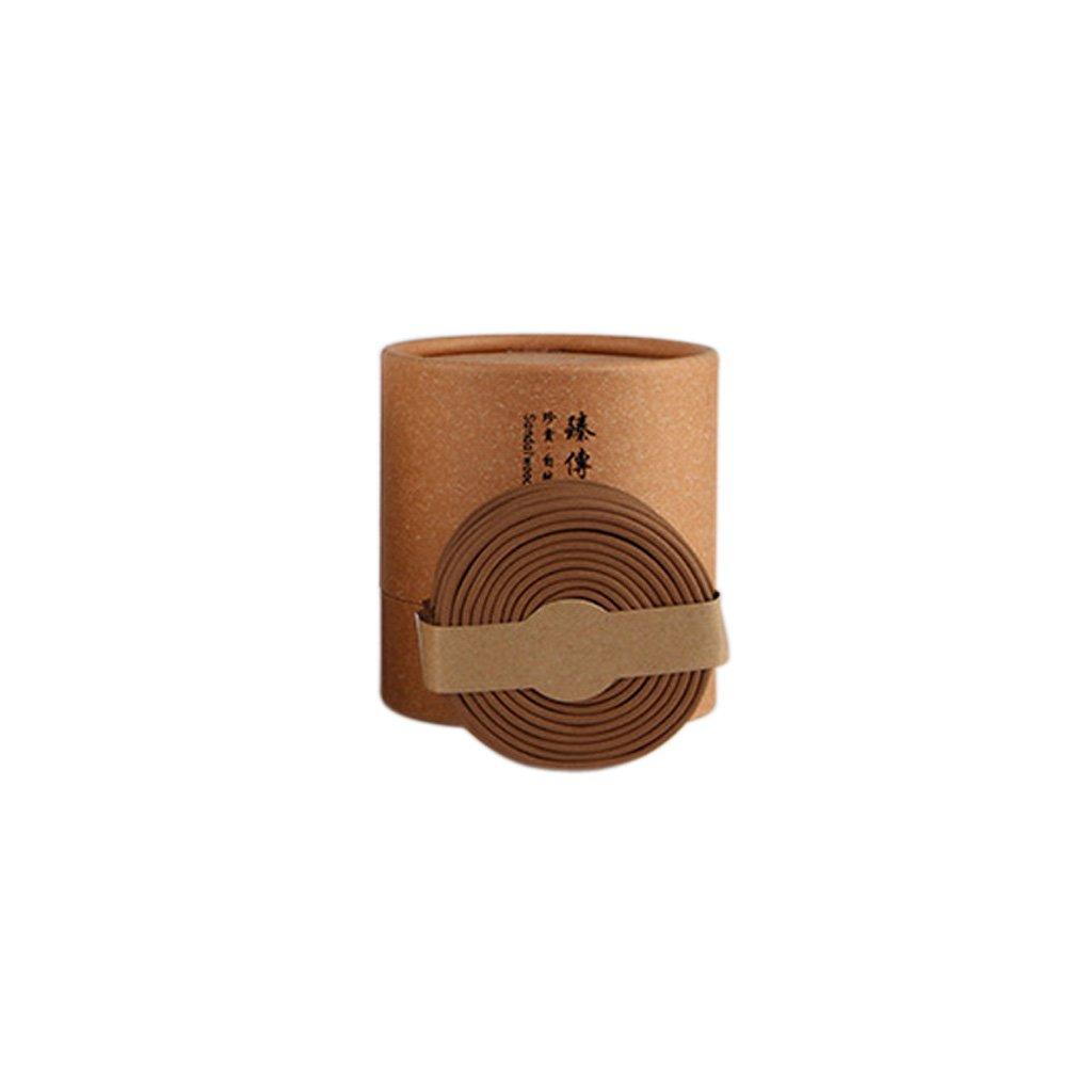 MagiDeal 48pcs Natural Incense Coil Spiral Stick Sandalwood Tibetan Incense Home Fragrances - Old Sandalwood