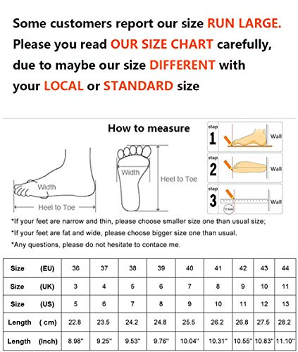 LLBubble Women Satin Pearls Wedding Flats Shoes for Bride Pointed Toe Prom Evening Bridal Party Dress Flats 5047-37