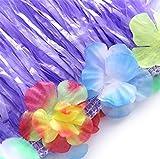 jollylife 8PCS Hawaiian Luau Hula Skirts - Grass