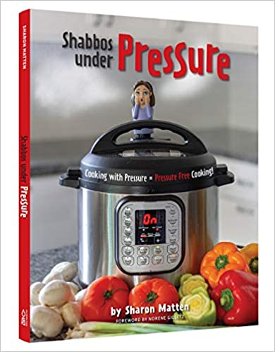 Shabbos Under Pressure is HERE! Click on the image to order