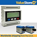 TUF-2000M-TS-2 Ultrasonic Flow Meter Kit - Flowmeter for DN15-100mm (0.78 to 3.9 inches) Pipe Size.