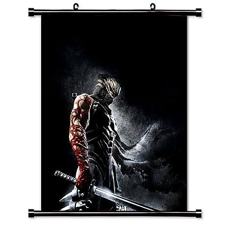 Ninja Gaiden juego tela Wall Scroll Poster (32