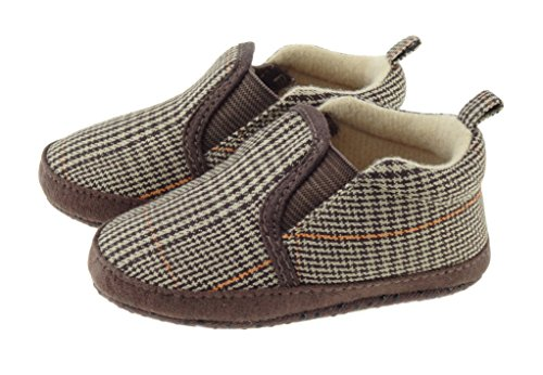 Baby Boys Grandpa style slippers 0 - 24 Months BT1568 (18-24)
