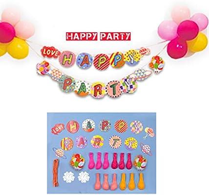 Suministros Feliz Cumpleaños - Decoración de fiesta de ...