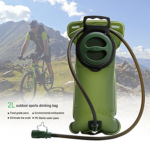 Cosy Zone Water Bladder 3 Liter/2 Liter Hydration Pack Bladder Reservoir Leak-Proof Non Toxic Easy Clean for Bicycling Hiking Camping