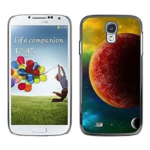TopCaseStore / la caja del caucho duro de la cubierta de protección de la piel - The Red Planet - Samsung Galaxy S4 I9500