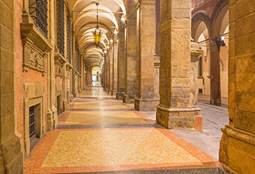 Yeele Backdrops 10x8ft Arcade in Medieval Town of Bologna Resurrection Easter Christian Religious Pictures Adult Artistic Portrait Photoshoot Props Photography Background