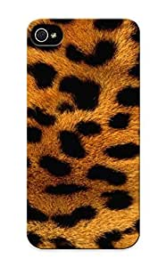 Fireingrass High-quality Durability Case For Iphone 4/4S Cover (animals Paerns Fur Leopard Print )