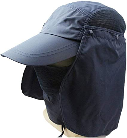 360/° Sun Protection Hat Summer Sun Hat Foldable Adjustable Sunscreen Baseball Cap UV Protectionfor Outdoor Sports Trips