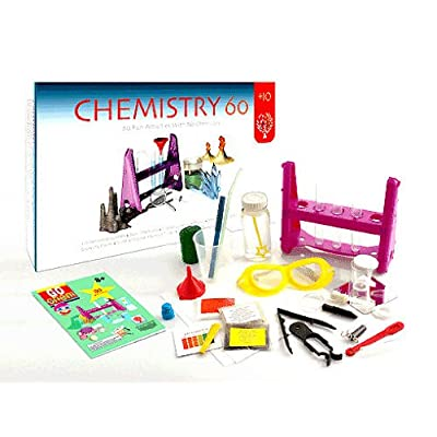 Edu-Toys Chem 60 Chemistry Set: Toys & Games