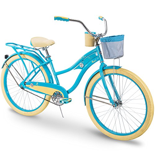 Huffy Cruiser Bike Womens, Holbrook 26 inch, Teal ()