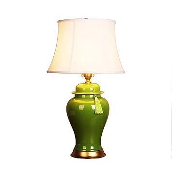 Wysm Lámpara de mesa de Cobre de cerámica 39 * 69 cm Chino ...