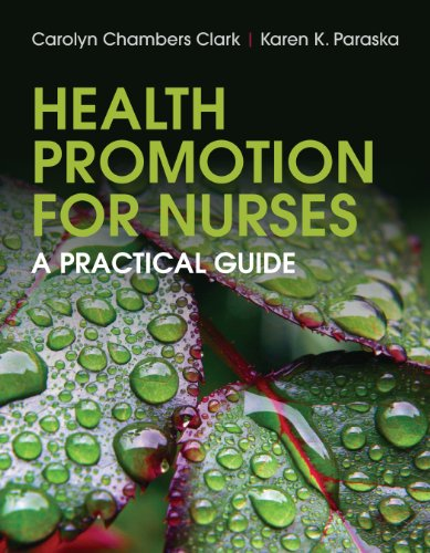 Health Promotion for Nurses Pdf