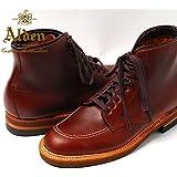 Alden Men's Indy Boot High Top Blucher Workboot Style#:403オールデン ブラウン ショート本革 シューズ