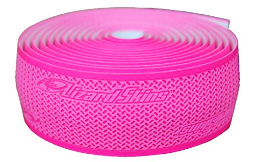 Lizard Skins DSP Bar Tape, Neon Pink, 2.5mm