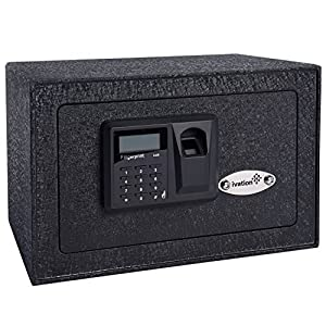 14. Ivation Home Digital Security Lock Box (Fingerprint Scanner Inside)