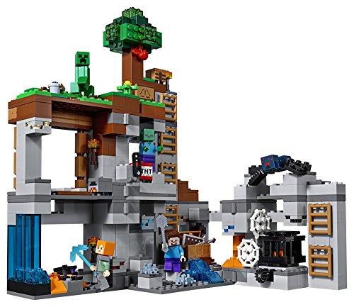 518b2vTPoXL - LEGO Minecraft The Bedrock Adventures 21147 Building Kit (644 Piece)
