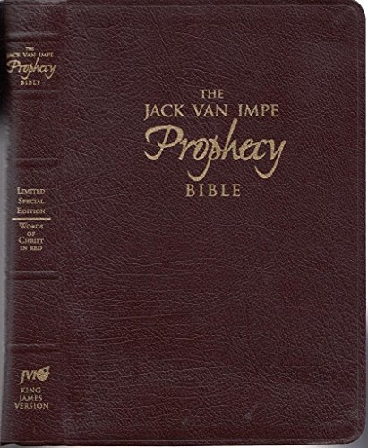 Jack Van Impe Foretelling Bible (Special Limited Edition /Words of Christ in Red)