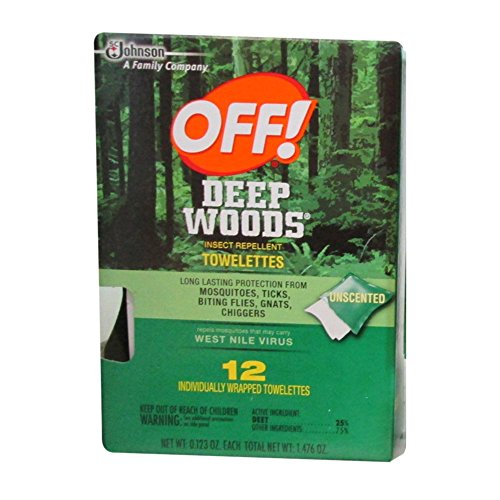Off! Deep Woods Insect Repellent Towelet - Bug Repellent Towelette Shopping Results