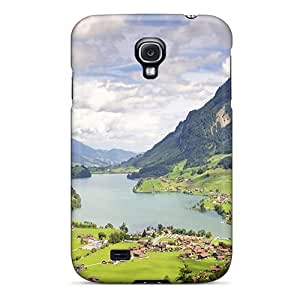 Fashion Protective Lungernsee Lake Samerataa Valley Swiss Case Cover For Galaxy S4