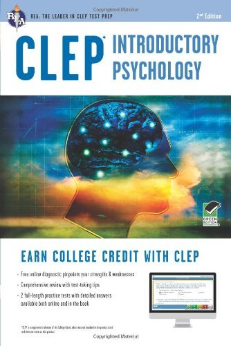 By Don J. Sharpsteen Ph.D. - CLEP Introductory Psychology w/ Online Practice Exams (Second Edition, Revised) (1/17/12)