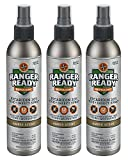 Ranger Ready Repellents Picaridin 20% Tick + Insect Repellent Expedition Pack | Amber Scent | 3X 235ml/8.0oz (Three (3) 235ml/8.0oz bottles)