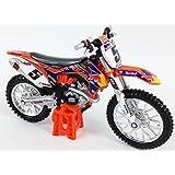 Ryan Dungey Factory RedBull KTM SXF-450 Motocross Bike Die Cast Toy Model 1:18 by burago