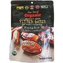 Wild & Raw Organic Deglet Nour Pitted Dates 5 oz [142g]