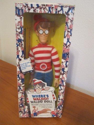 """Where's Waldo? 18"""" Waldo Doll by Mattel 1991"""