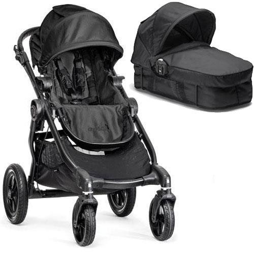 Baby Jogger - City Select Stroller with Bassinet - Black (Glider Board City Select compare prices)