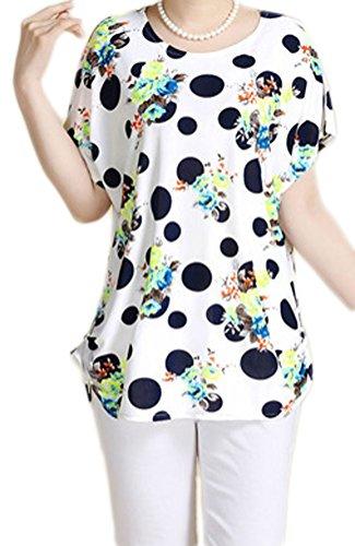 Soojun Casual Floral Sleeve Blouse