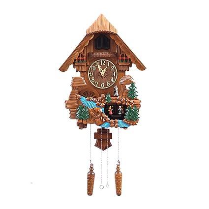 Amazon Com Mamasam Space Heater Modern Decorative Wall Clock