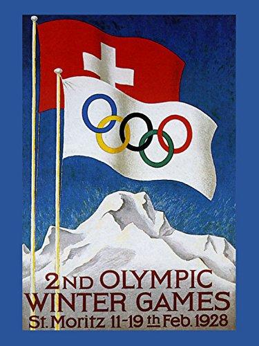 Olympics 1928 Winter Games Alps St. Moritz Switzerland 12