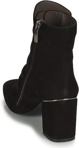 PERLATO 11294 CAM NOIR Bottines pour Femme Noir Noir