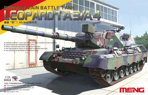 A3/A4 German Main Battle Tank - Plastic Model Kit #TS007 (Leopard Grille)