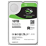 Seagate 10TB BarraCuda Pro 7200RPM SATA 6GB/s 256MB Cache 3.5-Inch Internal Hard Drive (ST10000DM0004)