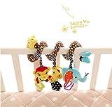 BABY BUCKET Star Baby Activity Spiral Crib Bed Soft Musical Toy Infant Rattle Stroller/pram