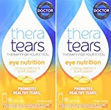 Cheap Thera Tears Nutrition, 1200mg Omega-3 Supplement Capsules, 90-Count (Pack of 2)