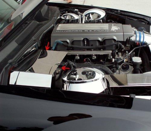 chrome car battery cover - 6