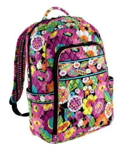 Vera Bradley Laptop Backpack Va Va Bloom
