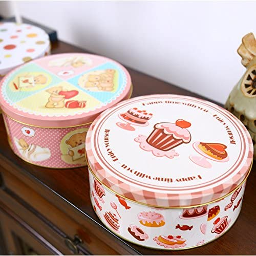 Caja de metal Zakka de Zakka, caja de almacenamiento, caja de metal, hecha a mano, para galletas, caja de hojalata, accesorios retro para decoración del hogar, 1 unidad: Amazon.es: Hogar