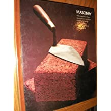 Masonry Home Repair and Improvement By the Editors of Time-life Books