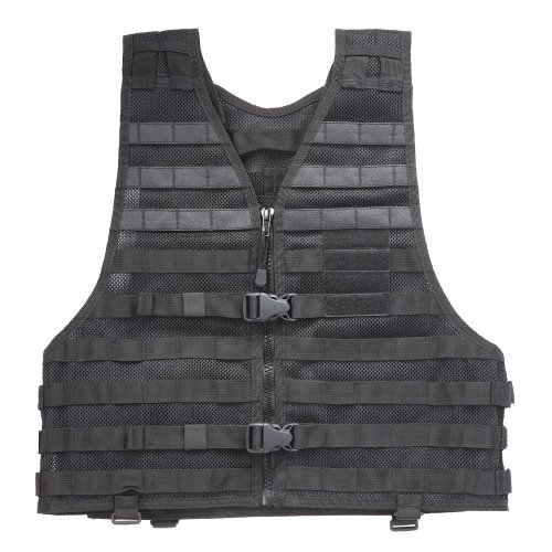 Tactical Nylon 5.11 Vest (5.11 Load Bearing Vest (Black, 4 X-Large))