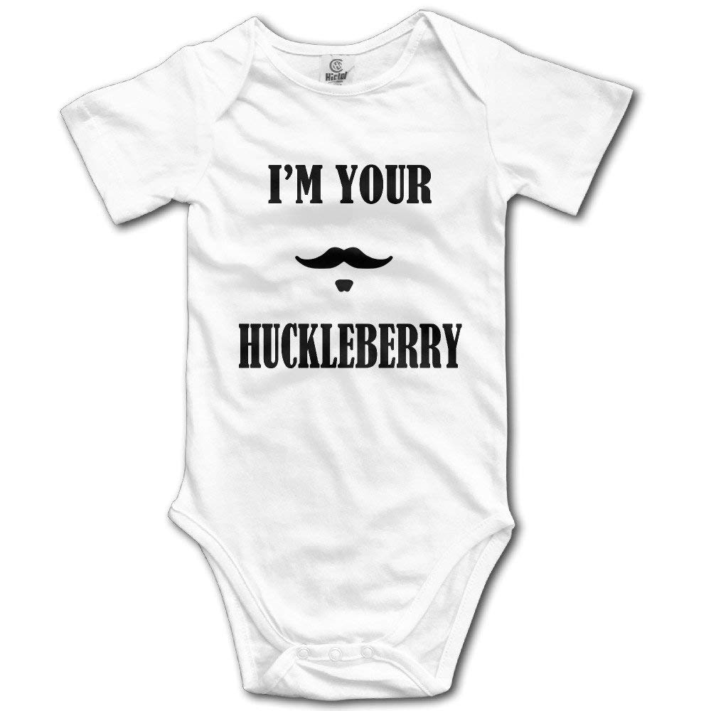 He Chang Yi Novelty Im Your Huckleberry Baby Onesie Onesie Style Bodysuit