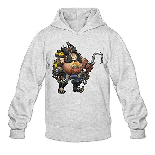 Overwatch Men's Roadhog Hoodies Hoodie Size M Ash - Mens Dallas Cowboy Pajama Pants