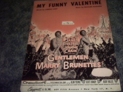 (My Funny Valentine Sheet Music (GENTLEMEN MARRY BRUNETTES) )