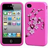 MYBAT IPHONE4AVCASKPT002 Pastel Spring Flowers Protective Case for iPhone 4 - 1 Pack - Retail Packaging - Pink