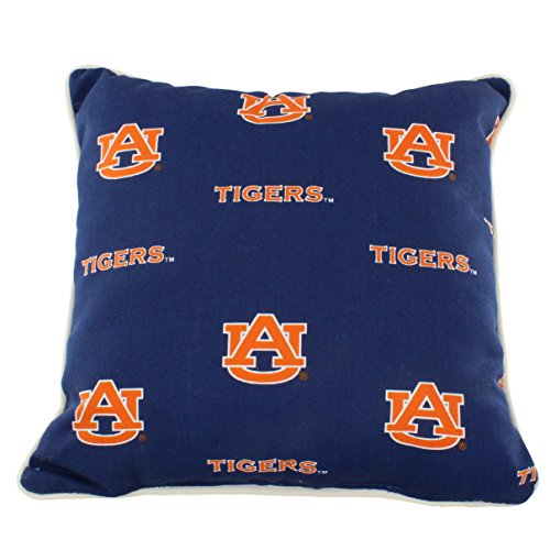 Auburn Tigers Throw Pillow - College Covers AUBODP Auburn Tigers Outdoor Decorative Pillow, 16