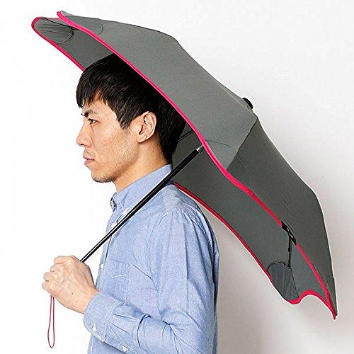 ブラント(BLUNT) 【空気力学による風に強い構造6色展開】ユニセックス長傘(メンズ/レディース雨傘) B071JZV2Z5 51|32ロズピンク 32ロズピンク 51